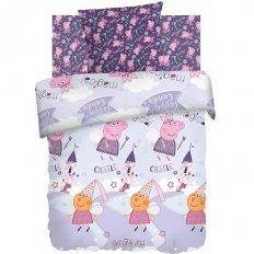 Детское постельное белье Свинка Пеппа Фея (бязь-люкс)