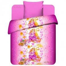 Детское постельное белье Disney Милая Рапунцель (бязь-люкс)