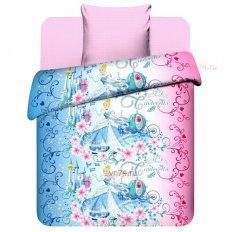Детское постельное белье Disney Прекрасная Золушка (бязь-люкс)