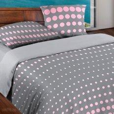 Постельное белье Wenge Motion Dot Pink-Gray (бязь-гост)