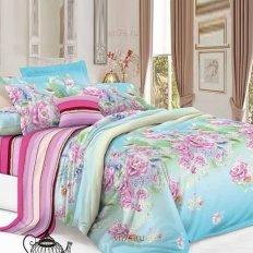 Постельное белье De Luxe Цветочное созвучие (сатин)
