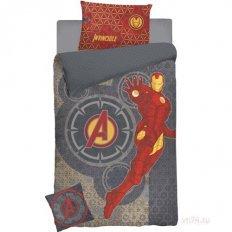 Детское постельное белье Marvel IronMan (поплин)