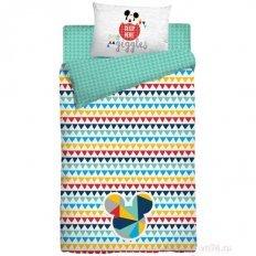 Детское постельное белье Mikki sleep here (поплин)