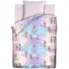Детское постельное белье Непоседа Маленькие модницы (бязь-люкс)