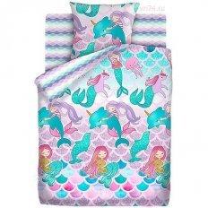 Детское постельное белье Непоседа Русалки (бязь-люкс)