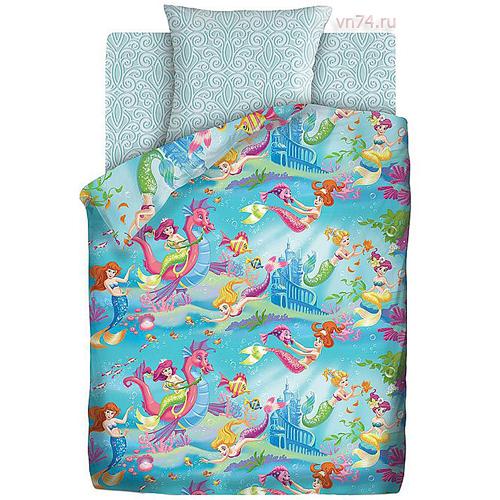 Детское постельное белье Непоседа Русалочки (бязь-люкс)