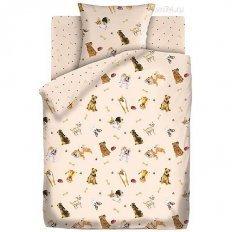 Детское постельное белье Непоседа Собачки (бязь-люкс)