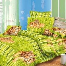 Постельное белье Эльфина Хищник зел (бязь-люкс)