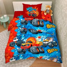 Детское постельное белье Вспыш Крутые тачки 9533 (бязь-люкс)