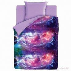 Детское постельное белье For You Neon Галактика (поплин)
