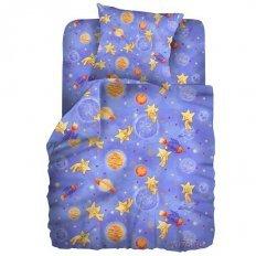 Детское постельное белье Кошки-мышки Космостар (бязь-гост)