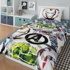 Детское постельное белье Marvel Супергерои Аvengers graphic (поплин)