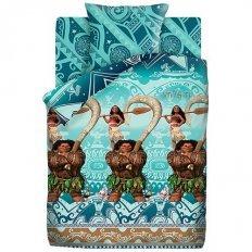 Детское постельное белье Моана и Мауи (бязь-люкс)