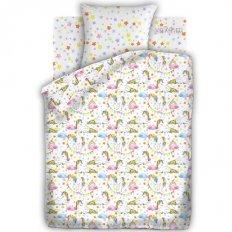 Детское постельное белье Непоседа Единороги (бязь-люкс)