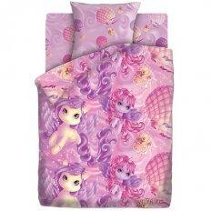 Детское постельное белье Непоседа Пони (бязь-люкс)