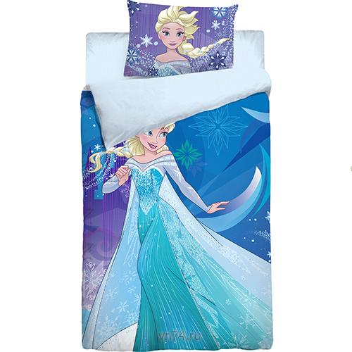 Детское постельное белье Холодное сердце Princess (поплин)