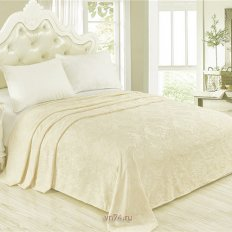 Плед велсофт Luxury Белое золото Нежный сон 797