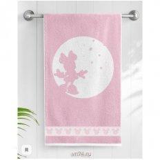 Полотенце махровое Minniе dream Розовый пион-белый