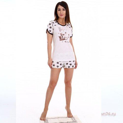 Пижама Мурка-3 лапки (хлопок)