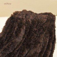 Плед из меха Trender шоколад евро 220x240