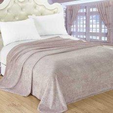 Плед велсофт Luxury Пепельный Нежный сон 716