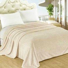 Плед велсофт Luxury Персик Нежный сон 797