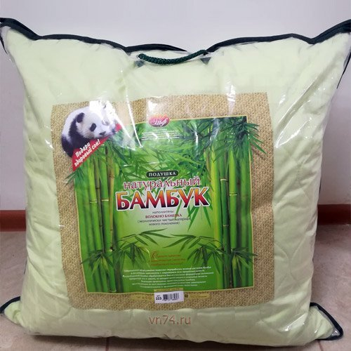 Подушка бамбук  со съёмным чехлом Эльф