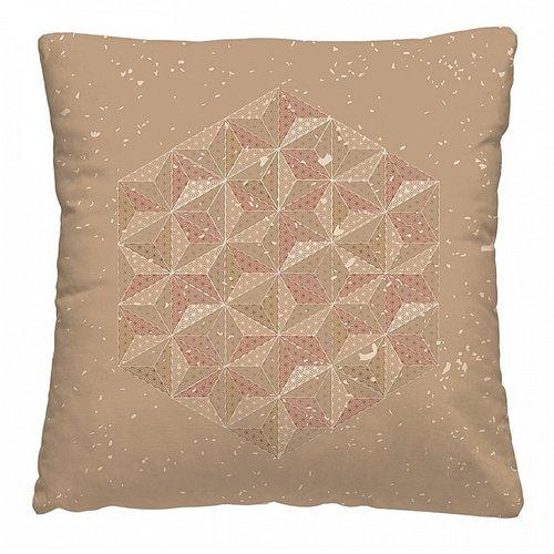 Подушка декоративная 40 x 40 Волшебная ночь Hexagon