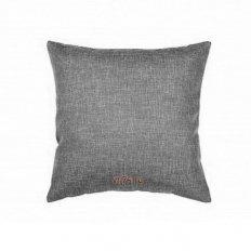 Подушка декоративная 40 x 40 рогожка базальт