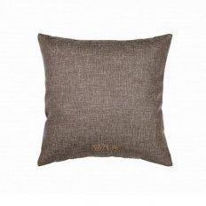 Подушка декоративная 40 x 40 рогожка какао