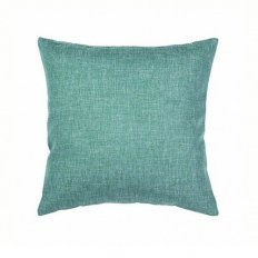 Подушка декоративная 40 x 40 рогожка морская волна