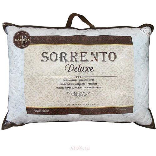 Подушка лебяжий пух Sorrento Deluxe в хлопке