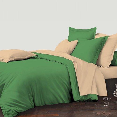 Постельное белье Колорит Зеленый остров (микросатин)