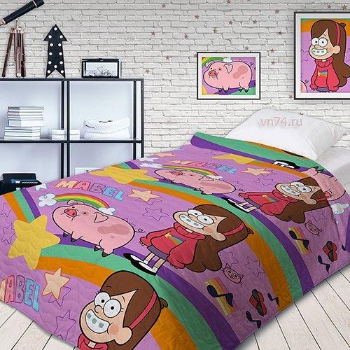 Детское покрывало Gravity Falls Мейбл и Пухля (хлопок)