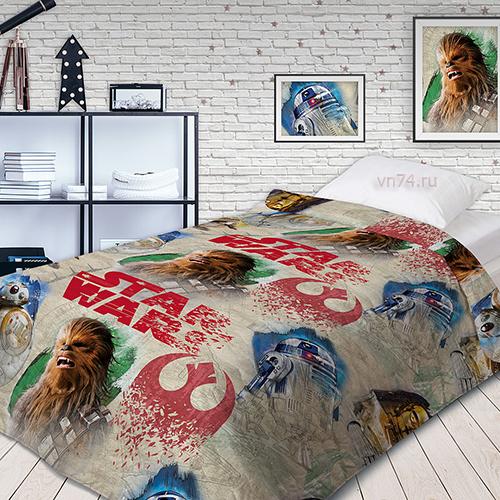Детское покрывало Star Wars Чубакка (хлопок)