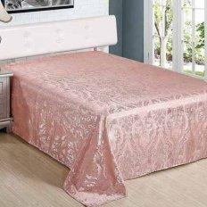 Покрывало шелк-жаккард Вельможа нежно-розовое