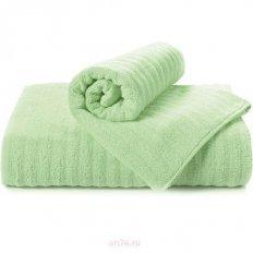 Полотенце махровое Aquarelle Волна светло-зеленый