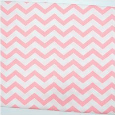 Полотенце махровое Aquarelle Зигзаги пастельно-розовое