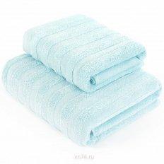 Полотенце махровое Verossa Stripe нежно-голубой