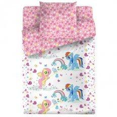 Детское постельное белье My Little Pony Радуга (бязь-люкс)