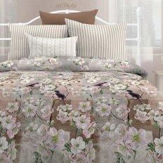 Постельное белье Любимый дом Сакура (поплин)