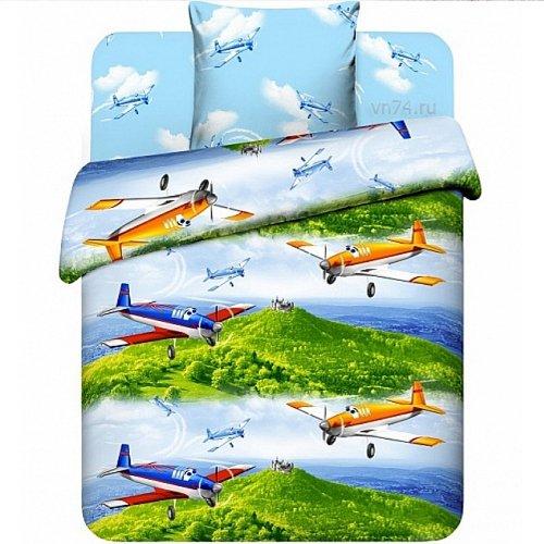 Детское постельное белье Крутые виражи (бязь-люкс)