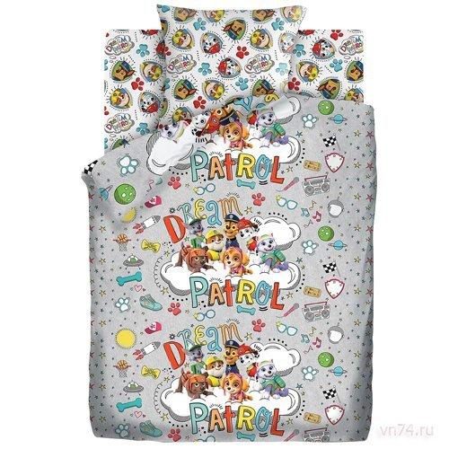 Детское постельное белье Щенячий патруль Патруль мечты (бязь-люкс)