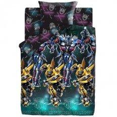 """Детское постельное белье Transformers"""" Neon"""" Оптимус... (поплин)"""