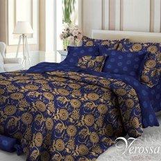 Постельное белье Verossa Elegant blue (сатин-люкс)
