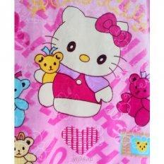 Детское плюшевое плед-покрывало 100x140 Hello Kitty