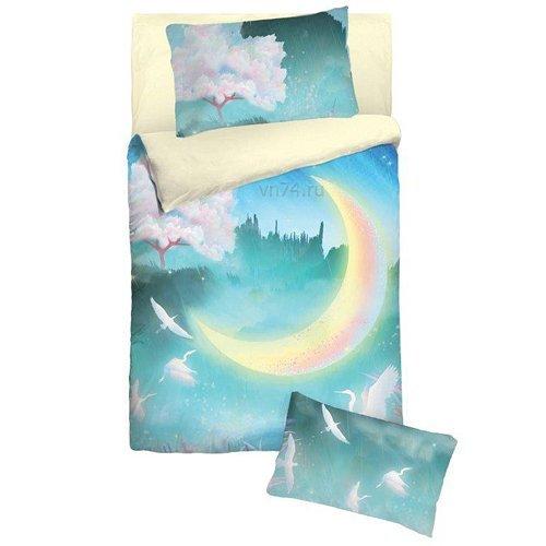 Детское постельное белье Облачко New moon (бязь-люкс)