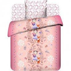 Детское постельное белье Лесная прогулка (бязь-люкс)