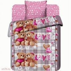 Детское постельное белье Любимый мишка (бязь-люкс)