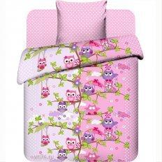 Детское постельное белье Совята (бязь-люкс)